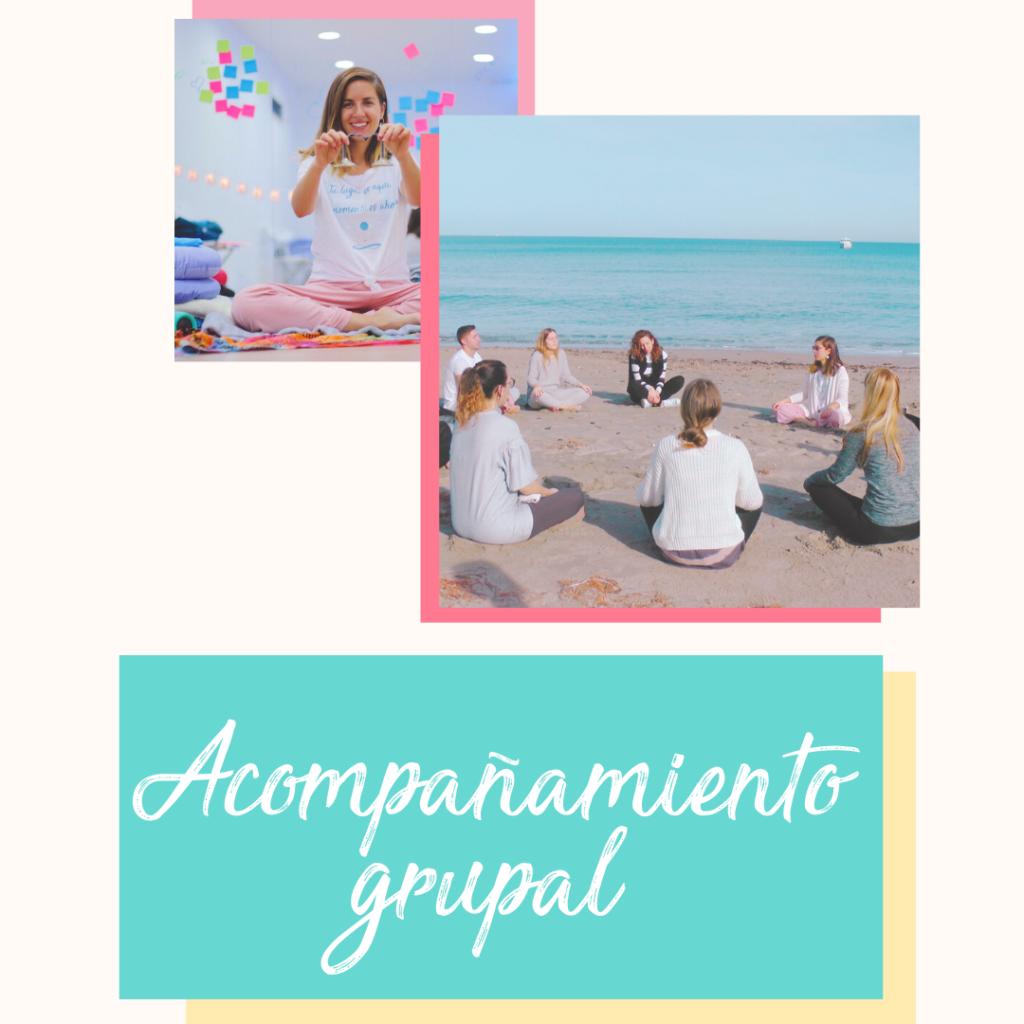 acompañar grupo mindfulness